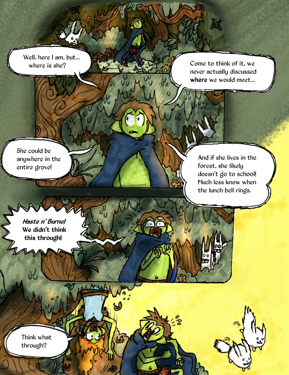 Page 45 - Haste n' Burne!